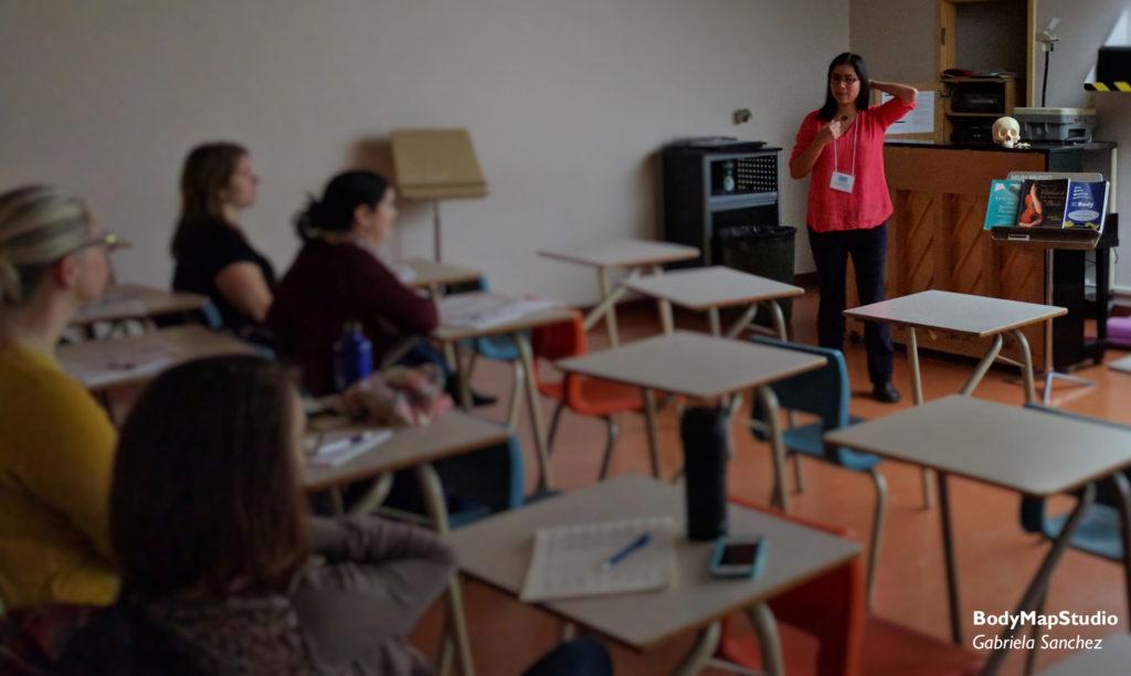 Gabriela Sanchez talks about preventing neck pain.